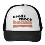 Needs More Bacon Mesh Hats