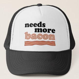 Needs More Bacon Trucker Hat