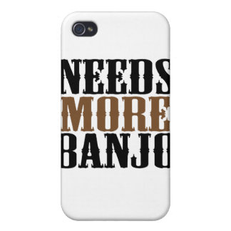 Needs More Banjo iPhone 4/4S Cases