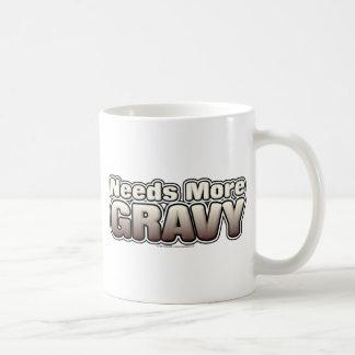 Needs More Gravy Mugs