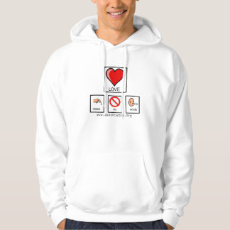 Needs No Words hoodie