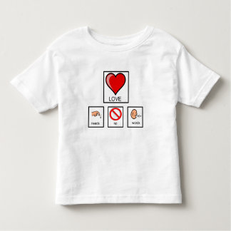 Needs No Words Toddler's Tee