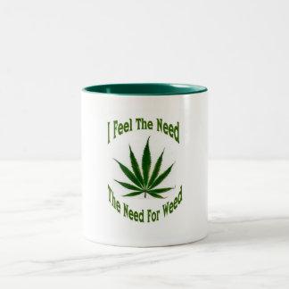Needy Two-Tone Coffee Mug