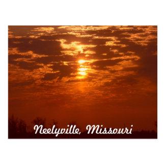 Neelyville Missouri Postcard