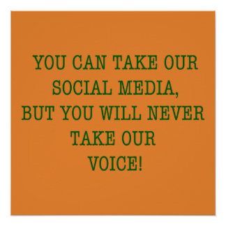 Neer Take Our Voice! Poster