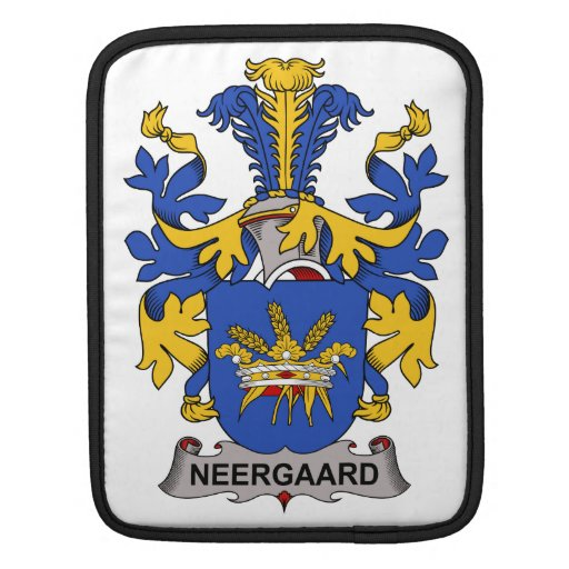 Neergaard Family Crest Sleeves For iPads