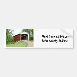 Neet Bridge, Parke County Bumper Stickers