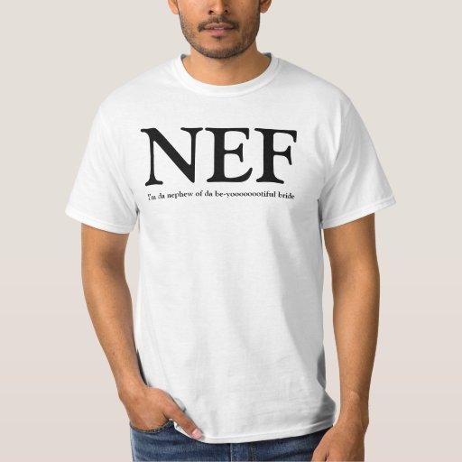 NEF -  NEPHEW of the Groom TShirt