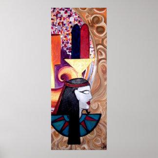 NEFER-TEM EGYPTIAN ART Print