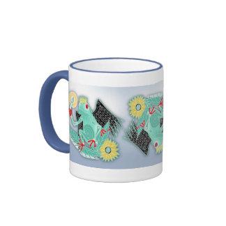 nefera del feliz cumpleaños taza de café