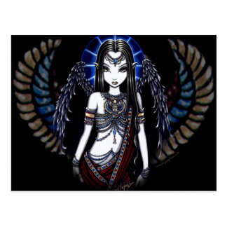 Nefertari Angelic Egyptian Goddess Postcard