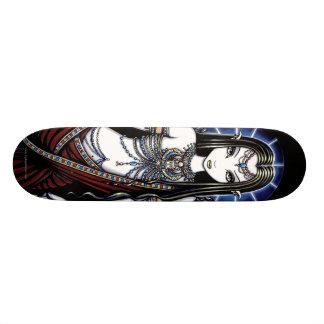 """Nefertari"" Gothic Egyptian Angel Art Skateboard"