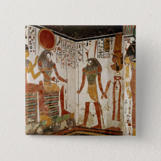 Nefertari is brought before the god button