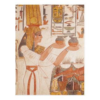 Nefertari Making an Offering Postcard