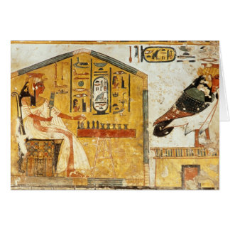 Nefertari playing senet card