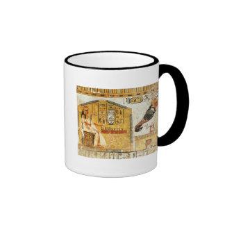 Nefertari playing senet ringer coffee mug
