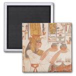 Nefertari que hace un ofrecimiento imanes