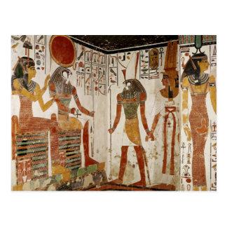 Nefertari se trae antes de dios tarjetas postales