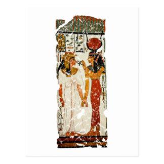 Nefertari with Isis Post Card