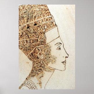 Nefertit, Queen of Egypt Poster