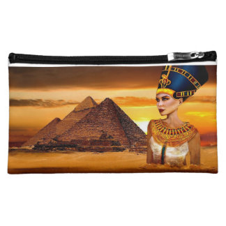 nefertiti Bagettes Bag Egyptian queen Cosmetic Bags