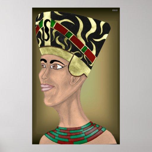 Nefertiti Bust Posters