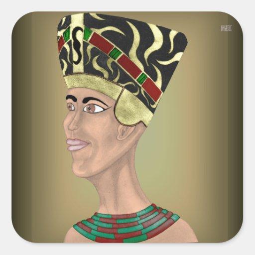Nefertiti Bust Sticker