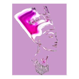 Nefertiti 'Egyptian Goddess' Design Postcard