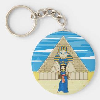 Nefertiti en la gran esfinge de Giz Llavero