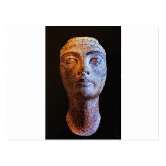 Nefertiti inacabado postales