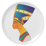Nefertiti Melamine Plate