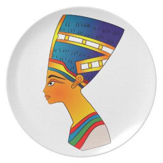 Nefertiti Plato De Cena