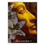 nefertiti purity and beauty (card) greeting card