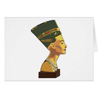 Nefertiti Tarjeta De Felicitación