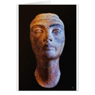 Nefertiti Unfinished Card
