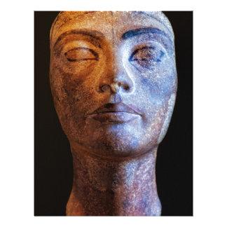 Nefertiti Unfinished Letterhead