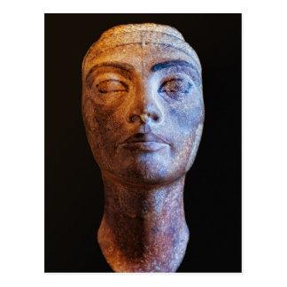 Nefertiti Unfinished Postcard