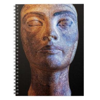 Nefertiti Unfinished Spiral Notebook