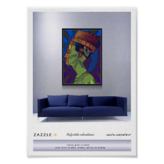 Nefertiti vibrations presentation posters