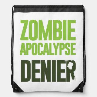 Negador de la apocalipsis del zombi mochilas