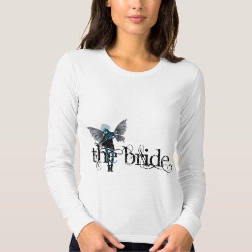 Negativa original de hadas del vestido blanco - la remera