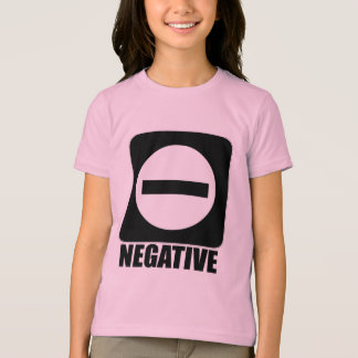 Negative 1 Black T-Shirt