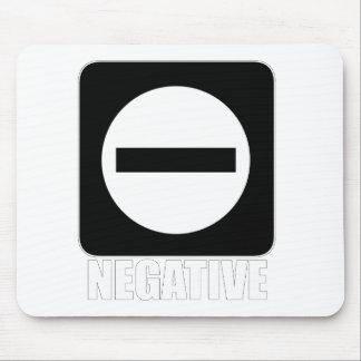 Negative 1 White Mousepad
