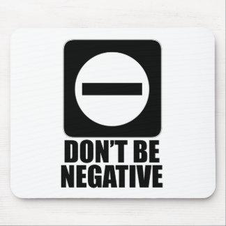 Negative 2 Black Mousepad