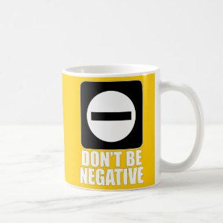 Negative 2 White Coffee Mug