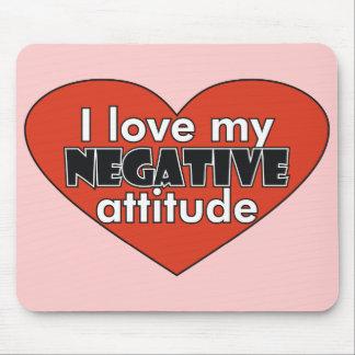 Negative Attitude Mousepad