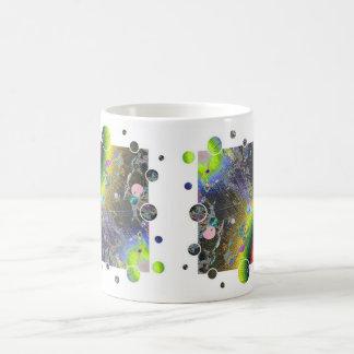 Negative Enamel Sunburst Fun Frame Coffee Mug