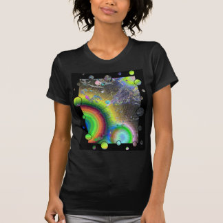 Negative Enamel Sunburst Fun Frame T-shirts