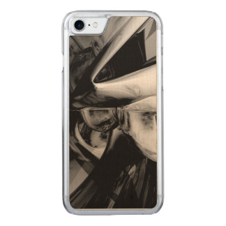 Negative Feelings Abstract Carved iPhone 7 Case