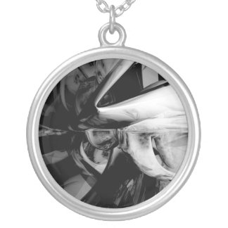 Negative Feelings Abstract Necklace